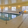 Swimming pool at Holiday Inn Express & Suites Omaha West