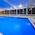 Swimming pool at Holiday Inn Express & Suites Pittsburgh West