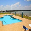 Swimming pool at Holiday Inn Express & Suites Port Lavaca