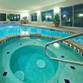 Swimming pool at Holiday Inn Express & Suites Sherman Texas