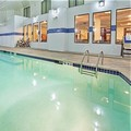 Swimming pool at Holiday Inn Express & Suites St. Charles