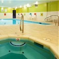 Swimming pool at Holiday Inn Express & Suites Thornburg S. Frederic