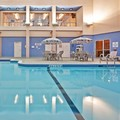 Swimming pool at Holiday Inn Express & Suites Toronto Mississauga West