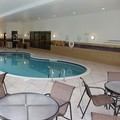 Swimming pool at Holiday Inn Express & Suites Wheeling