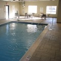 Swimming pool at Holiday Inn Express Vernon Manchester