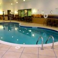 Swimming pool at Holiday Inn Express Wheeling