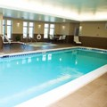 Swimming pool at Holiday Inn Express Youngstown / Niles I80
