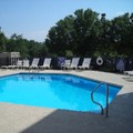 Swimming pool at Holiday Inn Express in Wilkesboro