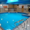 Swimming pool at Holiday Inn Montreal Centre Ville
