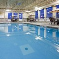 Swimming pool at Holiday Inn Pointe Claire Montreal Airport