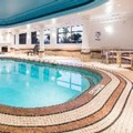 Swimming pool at Holiday Inn & Suites Grande Prairie