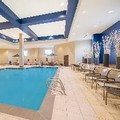 Swimming pool at Holiday Inn Terre Haute