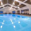 Swimming pool at Holiday Inn of Marquette
