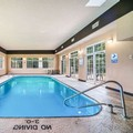 Swimming pool at Home Towne Suites