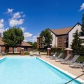 Swimming pool at Homewood Suites Dayton Fairborn