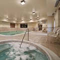 Swimming pool at Homewood Suites Rochester / Victor