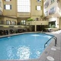 Swimming pool at Hotel Chateau Bromont