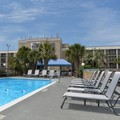 Swimming pool at Hotel Tybee