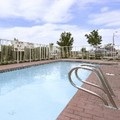 Swimming pool at Howard Johnson Colorado Springs