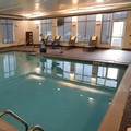 Swimming pool at Hyatt Place Pittsburgh South Meadows Casino Hotel