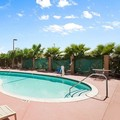 Swimming pool at Indio Super 8 & Suites