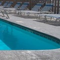 Swimming pool at Karnes City Lodge