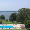 Swimming pool at Kenlake State Resort Park