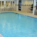 Swimming pool at Kingston Courtyard by Marriott