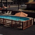 Swimming pool at Knights Inn (Formerly Travelers Inn)