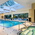 Swimming pool at La Grande Residence Vancouver at the Sutton Place