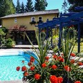 Swimming pool at La Pause Vacation Rental Home