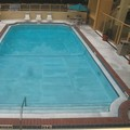 Swimming pool at La Quinta Inn