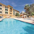 Swimming pool at La Quinta Inn & Suites