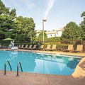 Swimming pool at La Quinta Inn & Suites Baltimore North