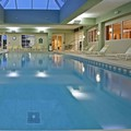 Swimming pool at La Quinta Inn & Suites Bannockburn Deerfield by Wyndham