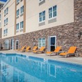 Swimming pool at La Quinta Inn & Suites Forsyth