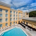 Swimming pool at La Quinta Inn & Suites Lynchburg