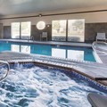 Swimming pool at La Quinta Inn & Suites Portland Nw