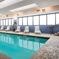 Swimming pool at La Quinta Inn & Suites St. Louis Airport / Riverpo