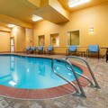 Swimming pool at La Quinta Inn & Suites Vancouver