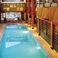 Swimming pool at Lake Louise Inn