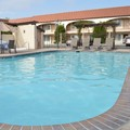 Swimming pool at Laurel Inn Motel