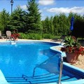 Swimming pool at Le St. Martin Bromont Hotel & Suites