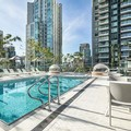 Swimming pool at Level Furnished Living Yaletown Richards