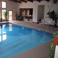 Swimming pool at Lodge by The Blue