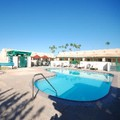 Swimming pool at M Star Inn & Suites