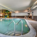 Swimming pool at Mainstay Suites Grantville Hershey North