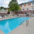 Swimming pool at Mainstay Suites at Knoxville Airport