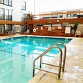 Swimming pool at Mankato City Center Hotel