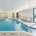 Swimming pool at Mansfield Hampton Inn